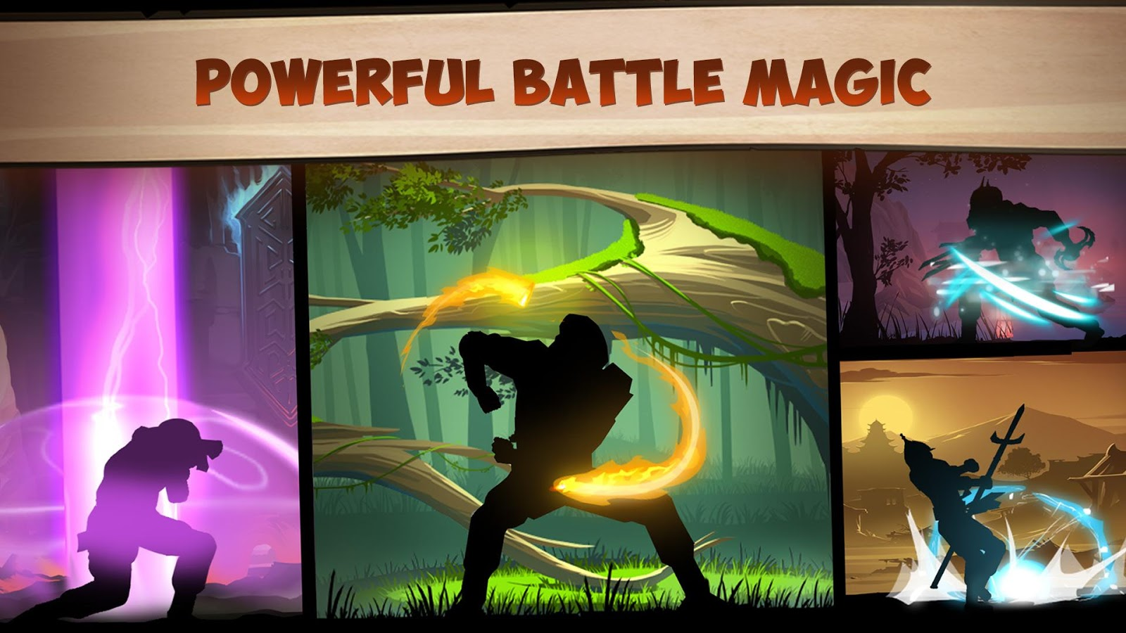 Screenshots of Shadow Fight 2 for iPhone