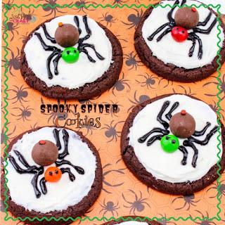 Spooky Spider Cookies.