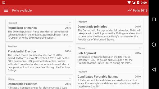 玩免費新聞APP|下載Polls 2016 app不用錢|硬是要APP