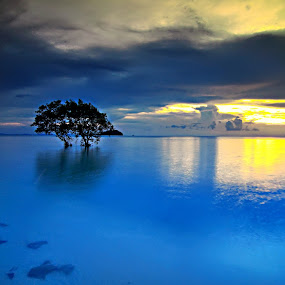 Tjg.Pendam by ANdi Khoebill - Landscapes Waterscapes