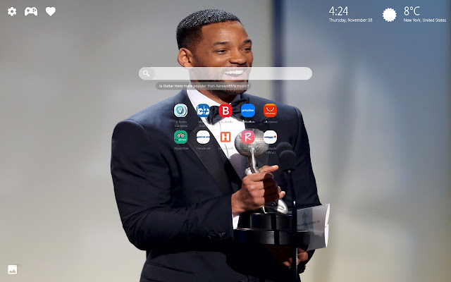Will Smith Wallpapers HD New Tab