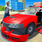 Real Gangster Theft Car Destruction Game icon