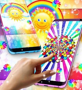 Rainbow live wallpaper - náhled