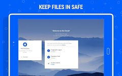 screenshot of Cloud Mail.ru:  Keep your photos safe