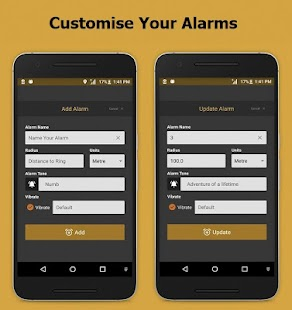 Pin Alarm (Location Alarm) - náhled