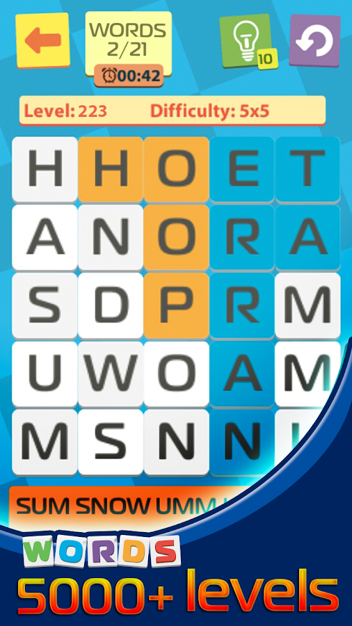 find words with letters 2 find the words from the letter android apps on play 1227