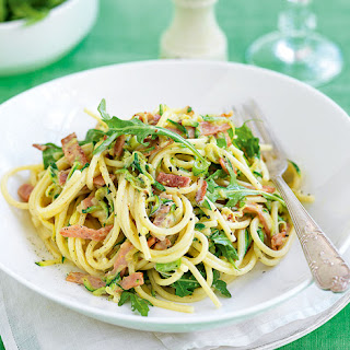 Creamy Bacon & Courgette Spaghetti