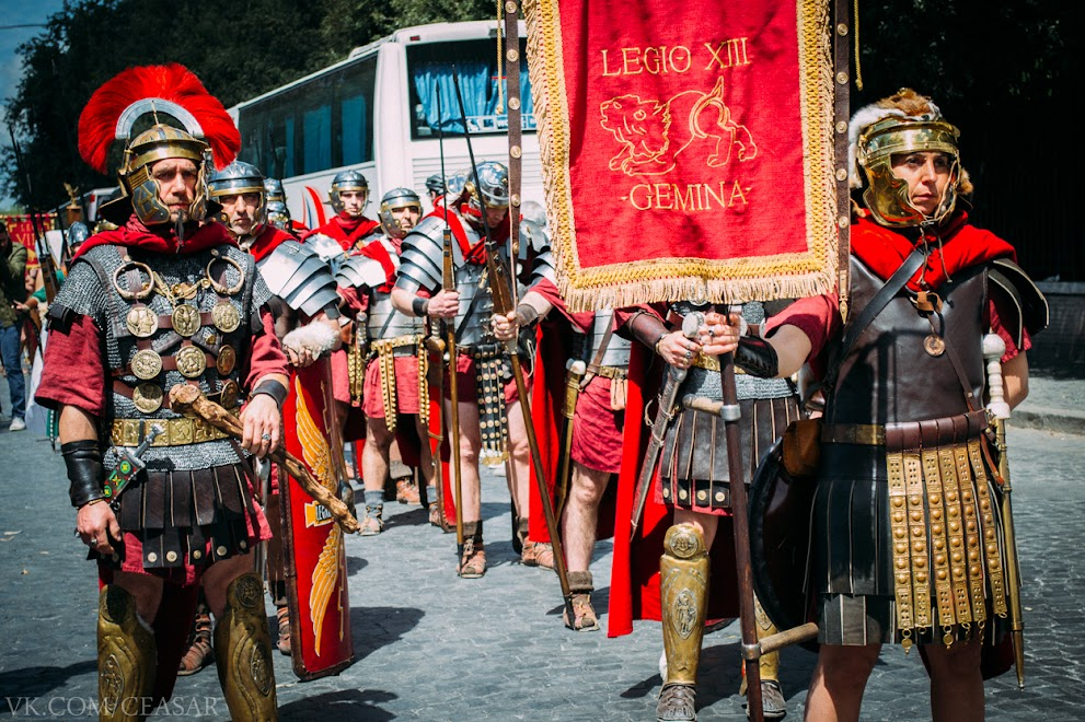 Римские реконструкторы