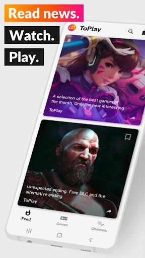 ToPlay - News, streams and games. Video game news. 3.0.3 (79) screenshots 1