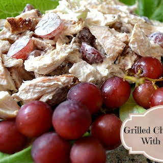 Grilled Chicken and Grapes Salad.