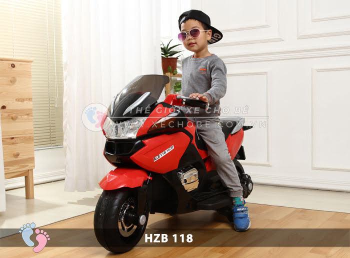 Xe mô tô điện cho bé HZB-118 7