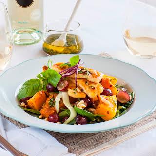 Haloumi Salad.