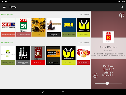 radio.at - Der Radioplayer- screenshot thumbnail