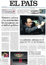 Photo: Montoro achaca a las autonomías los desajustes en el déficit público; los jubilados españoles adelantarán el pago del 10% en los fármacos y Hollande y Sarkozy se disputan el voto ultra, en nuestra portada del miércoles 25 de abril http://srv00.epimg.net/pdf/elpais/1aPagina/2012/04/ep-20120425.pdf