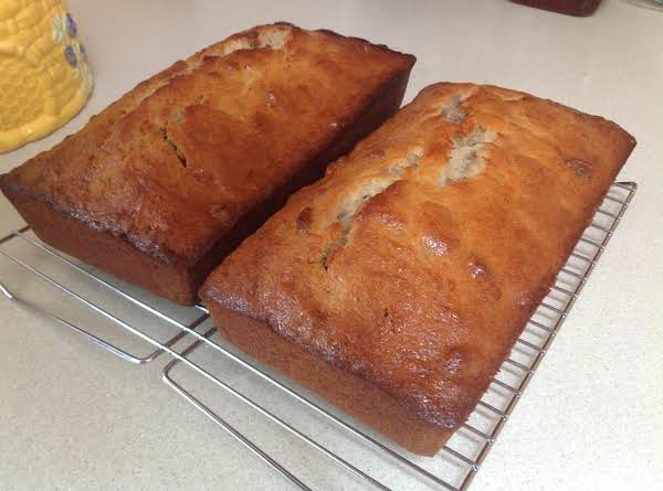 Doubled The Recipe To Make Two At Once.  Didn't Over Bake This Time!  :)