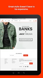 JackThreads: Men's Shopping- screenshot thumbnail