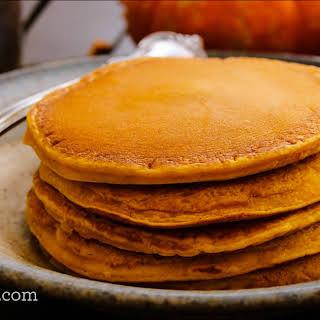 Cinnamon Paleo Pumpkin Pancakes.