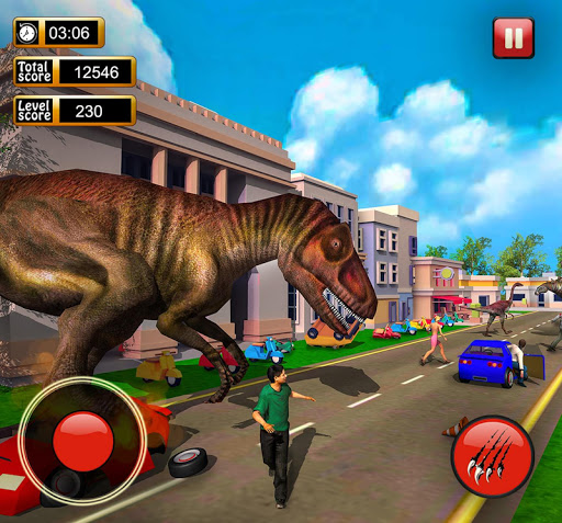 Monster Dinosaur Simulator: City Rampage screenshots 6