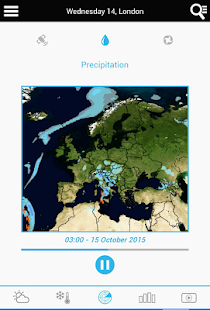 Weather for Denmark - náhled