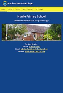 Hordle Primary School- screenshot thumbnail