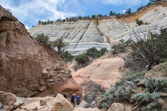 Photo: Rim Canyon; PEEC Slot canyons hike with Doug Scott