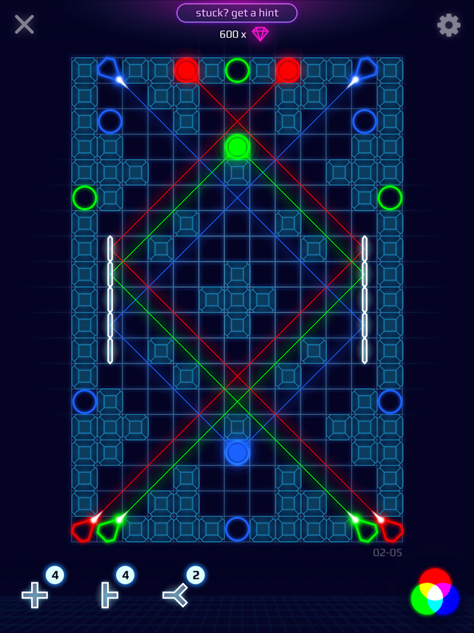 Laser Dreams - Brain Puzzle- screenshot