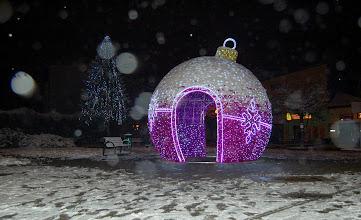 Photo: Christmas bubble - in Czechowice. By Ola Dąbrowska and Marta Górzyńska
