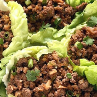 Asian Lettuce Wraps.