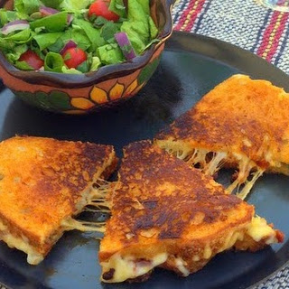 Longaniza Grilled Cheese Sandwich.