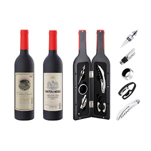 Set 6 accesorii pentru vin, PH-12878S