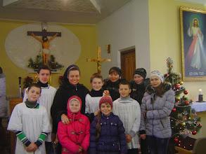 Photo: In der Kirche St. Paula in Nova Huta