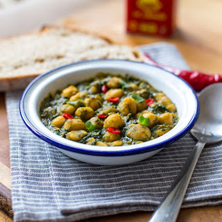 Andalusian-style Chickpeas And Spinach.