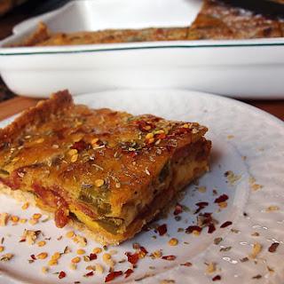 Almond Crusted Keto Quiche