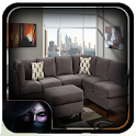 Living Room Grey Paint icon