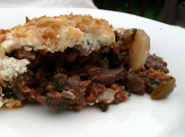 Moussaka Style Beef And Zucchini Recipe