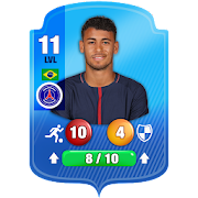 Top Stars : كرة القدم مباراة - بطاقات إستراتيجية
