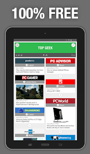 Top Geek - Tech News- screenshot thumbnail
