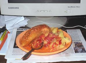 Photo: Papryka faszerowana, sos pomidorowy ze śmietaną (51)