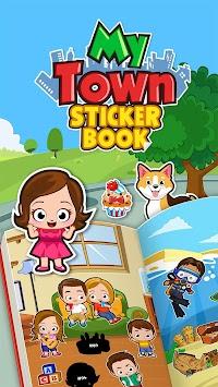 My Town : Sticker Book