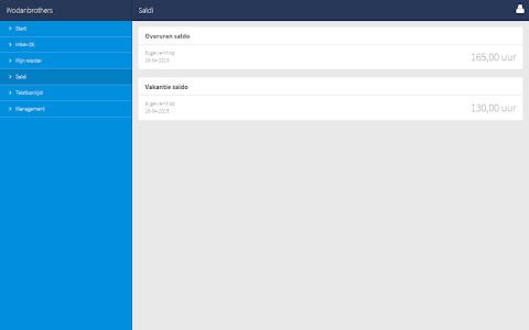 Dyflexis Planning screenshot 7