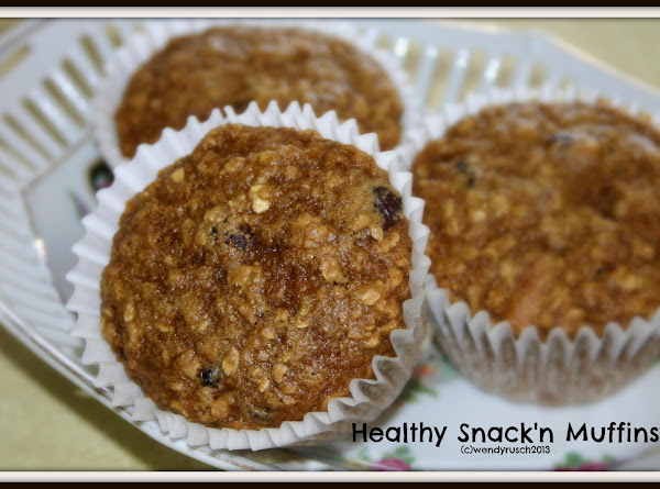 Healthy Snak'n Muffins Recipe