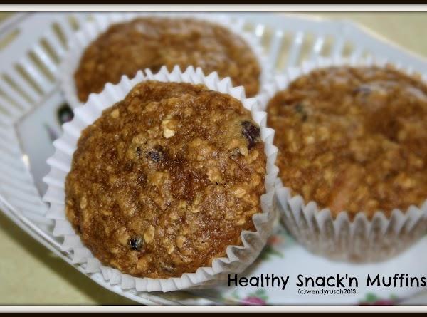 Healthy Snak'n Muffins Recipe
