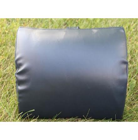 Leathertex kudde svart Charcoal