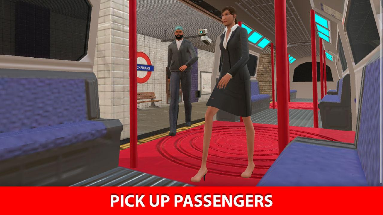 London Subway Train Simulator- screenshot