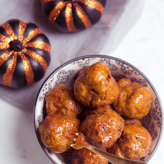Pumpkin and Sage Turkey Meatballs!