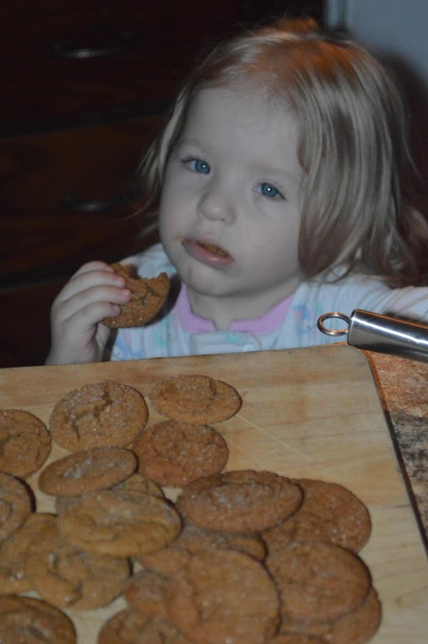 My little cookie monster! :)