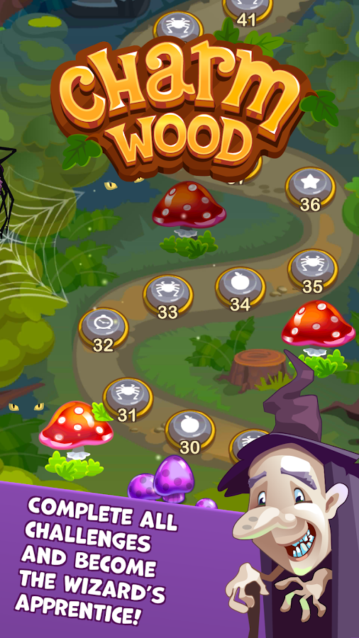 Charmwood - Magical Match 3- screenshot