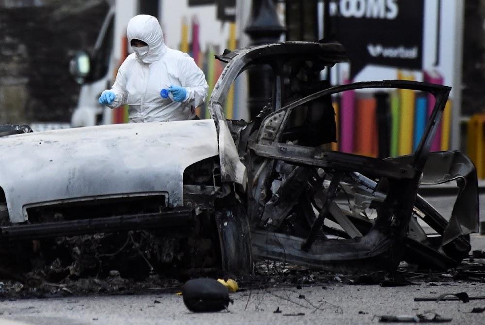 Car bomb blast in Northern Ireland linked to New IRA