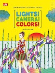 """LIGHTS! CAMERA! COLORS! Fashion Photography Coloring Book for Adults - Adimodel"""