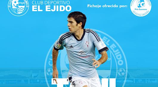 El CD El Ejido firma a Toni Dovale